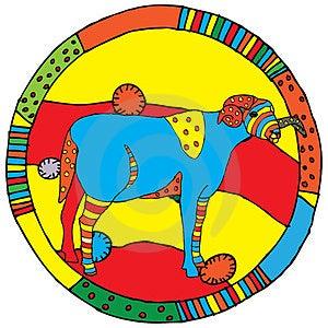 Aries Horoscope Sign Stock Image - Image: 24010511