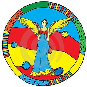 Virgo Horoscope Sign Royalty Free Stock Image - Image: 24010596