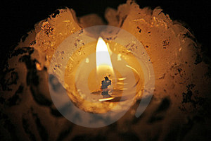 Candle Royalty Free Stock Images - Image: 24018849