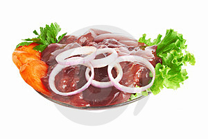 Fresh Liver Stock Photography - Image: 24034822