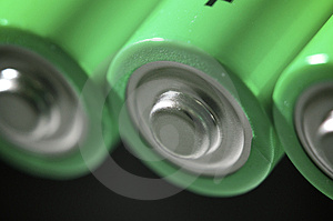 Batteries Royalty Free Stock Photo - Image: 24038475