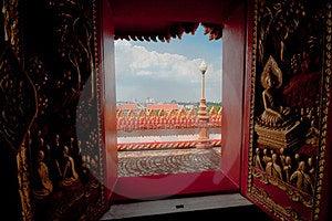 Phramahathat Khannakhon Tower, Khonkaen Thailand Stock Photography - Image: 24038782