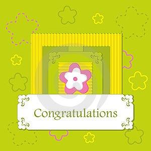 Greeting Card Royalty Free Stock Image - Image: 24040616