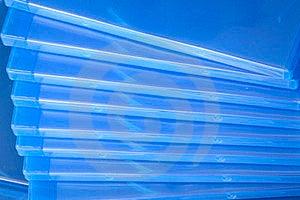 Plastic Blu Ray  Cases Stock Photos - Image: 24043283