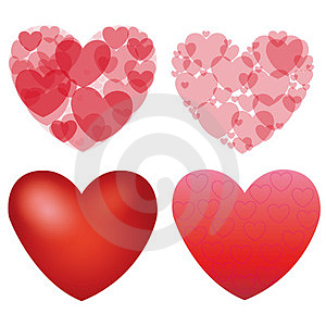 Heart Background  Royalty Free Stock Photography - Image: 24045377