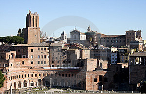 Trajans Market, Rome Royalty Free Stock Photo - Image: 24048095