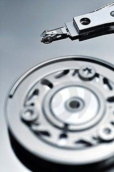 Data Reading On Hardisk Stock Image - Image: 24052701