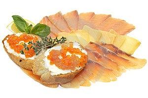 Slicing Of Fish Royalty Free Stock Photo - Image: 24055445