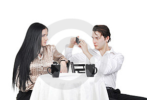 Taking Picture Of Girlfriend Stock Photos - Image: 24064893