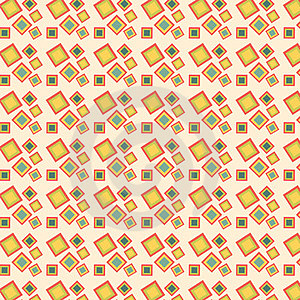 Retro Squares Pattern Royalty Free Stock Image - Image: 24065866