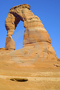 Delicate  Arch Royalty Free Stock Photography - Image: 24069497