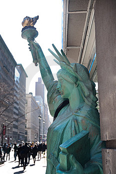 Statue Of Liberty Replica Royalty Free Stock Photography - Image: 24071427