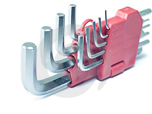 Hex Keys Stock Image - Image: 24073031