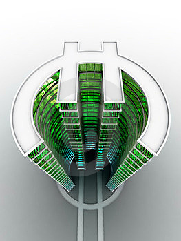 Euro Building Stock Photo - Image: 24079750