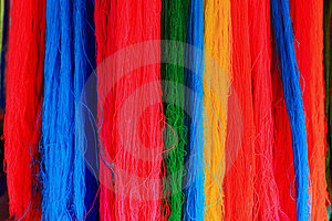 Color Threads Royalty Free Stock Images - Image: 24086239
