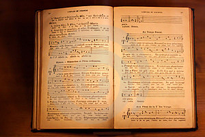 The Old Note Song Book. Stock Photography - Image: 24095522