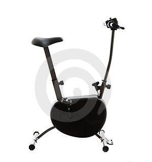 Stationary Bike Royalty Free Stock Image - Image: 24099566