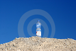 Survival Bottle Stock Image - Image: 2411131