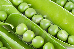 Peas_02 Stock Photo