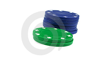 Poker Chips Royalty Free Stock Images - Image: 2412239