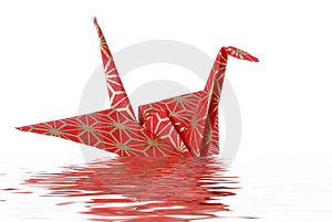 Oragami Peace Bird Royalty Free Stock Image - Image: 2412636