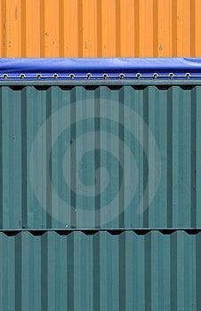Kleurrijke Containers Royalty-vrije Stock Foto - Afbeelding: 2414295
