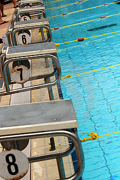 Swimming Competition Royalty Free Stock Photos - Image: 2415788