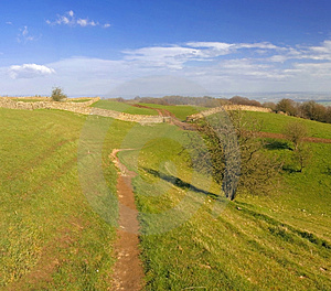 View From Broadway Tower Count Stock Image - Image: 2416611