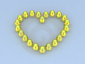 Easter Love Carrots Royalty Free Stock Image - Image: 24104776