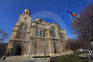 Holy Assumption Cathedral In Varna. Royalty Free Stock Photo - Image: 24107215