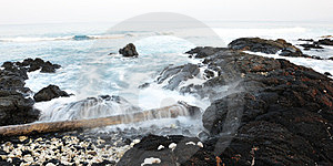 Hawaii Big Island Kona Coast Early Morning Royalty Free Stock Image - Image: 24116906