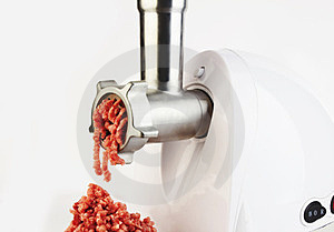 Meat Grinder Royalty Free Stock Images - Image: 24117089