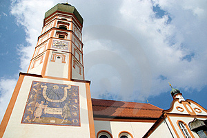 Andechs Abbey Royalty Free Stock Photos - Image: 24123518