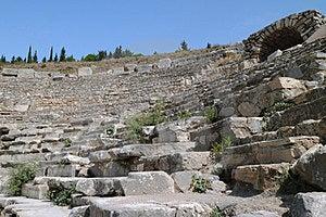 Fragment Of Odeon Of Ephesus Stock Photo - Image: 24123830