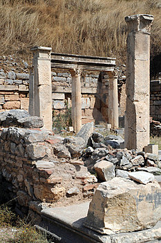 Piece Of Ancient Ruins In Ephesus Royalty Free Stock Photography - Image: 24123927