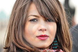 Portrait Of A Woman Stock Images - Image: 24124724