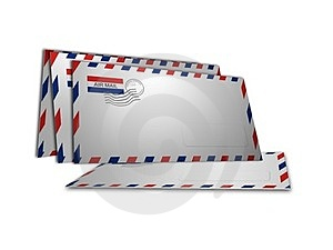 Air Mail Royalty Free Stock Photo - Image: 24140235