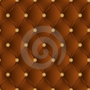 Leather Brown Upholstery Stock Photos - Image: 24155203