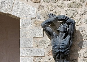 Statue In Spain Royalty Free Stock Images - Image: 24155839