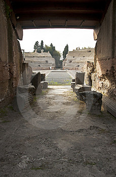 Roman Amphitheatre Stock Images - Image: 24158394
