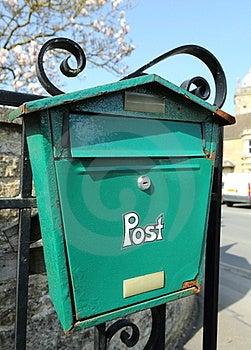 A Rusting Post Box Stock Photos - Image: 24160623
