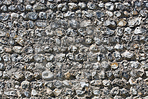 Traditional Sussex Stone Wall Royalty Free Stock Photo - Image: 24160865