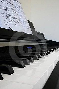 Piano Stock Image - Image: 24162241