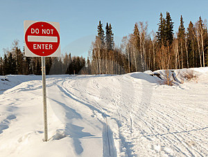 Do Not Enter Sign Royalty Free Stock Image - Image: 24163696