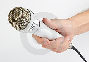Microphone Royalty Free Stock Photography - Image: 24165527