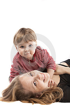 Image Mother And Son Stock Photography - Image: 24167482