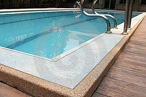 Swimming Pool And Stairs - Vacation Background Royalty Free Stock Photo - Image: 24174595