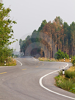 Curve Road Royalty Free Stock Photos - Image: 24176848