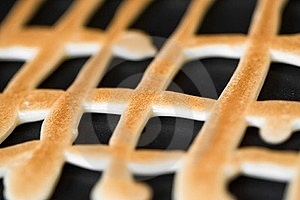 Grid Shaped Cookies Stock Image - Image: 24176871