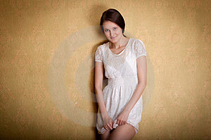 Portrait Of The Young Girl Stock Images - Image: 24178274